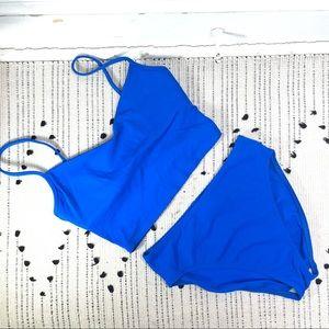 La Blanca Longline Blue 2 Piece Bikini Swimsuit 10